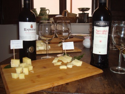wine cheese tasting palermo